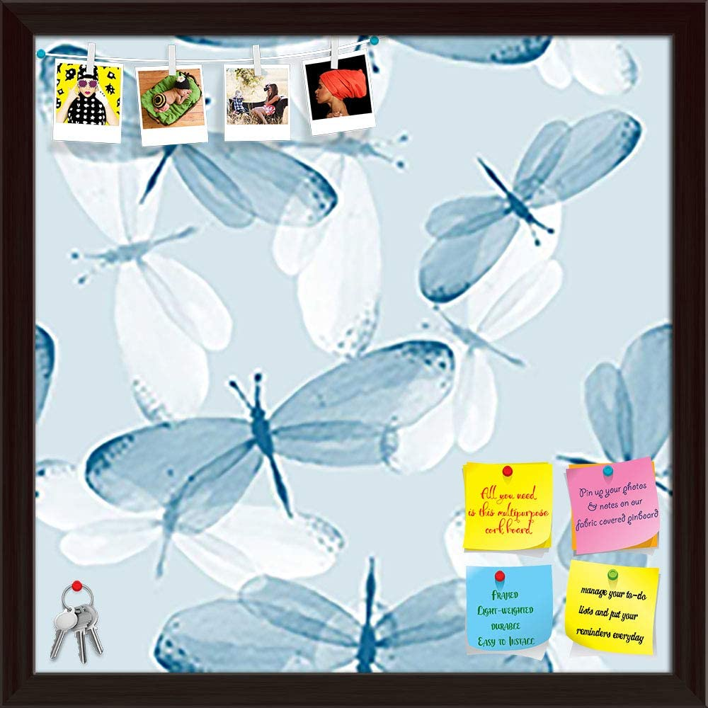 Artzfolio Butterflies D2 Printed Bulletin Selling and selling Financial sales sale Pin Notice Board