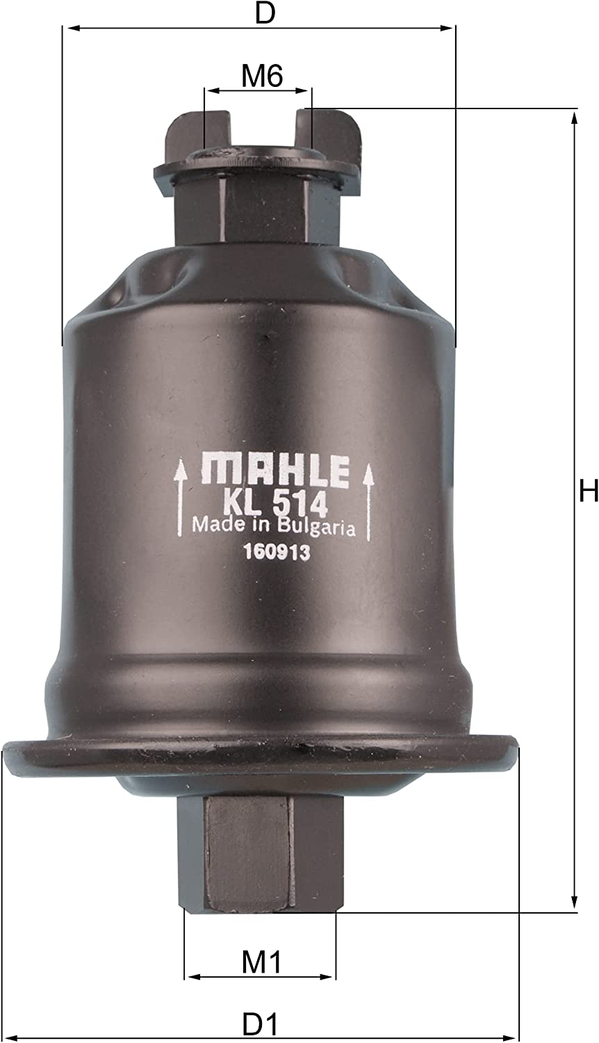 MAHLE KL 514 Superior Fuel Filter lowest price