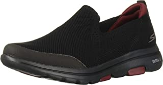حذاء جو ووك 5 من سكيتشرز, (اسود), 42.5 EU