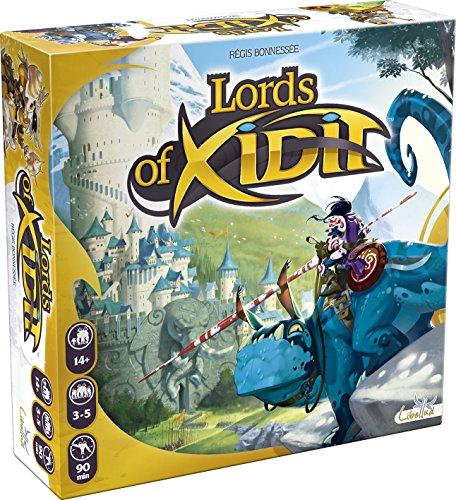Libellud 002537 - Lords of Xidit, Brettspiel