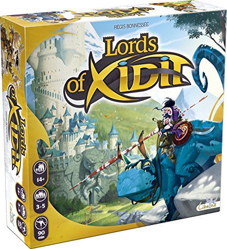 Libellud 002537 - Lords of Xidit, Brettspiel