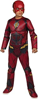 Rubie's Costume Boys Justice League Deluxe Flash Costume, Medium, Multicolor