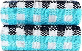 HLD, HLD Los Hombres de los Calcetines del Barco de Moda Moda Antideslizante Calcetines Invisibles Calcetines (Color : A)