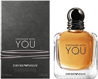 Emporio Armani Stronger With You - perfume for men - Eau de Toilette, 100 ml