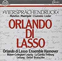 Motetten by LASSO ORLANDO DI (1994-06-01)