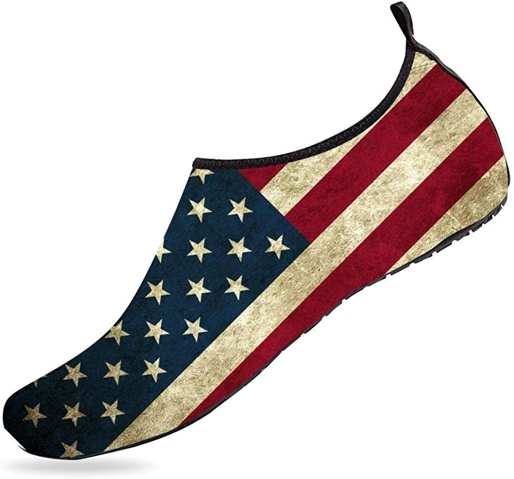 NUFURE Gifts American Flag Water Sports Socks Shoes Quick-Dry for Credence Aqua