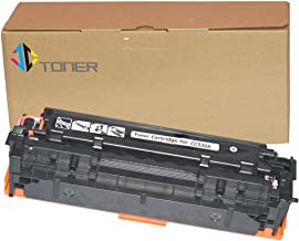 JC Toner Compatible Toner Cartridge Replacement for 304A CC530A for use with Color Laserjet CP2025 CP2025dn CM2320fxi MFP; Canon imageCLASS MF726Cdw LBP766