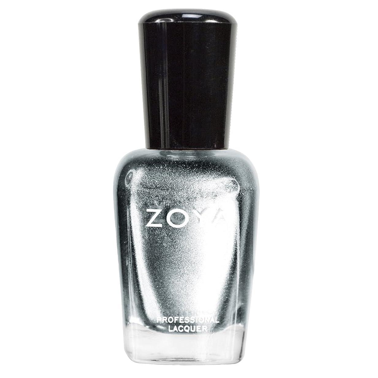 経過確認してください商人ZOYA ゾーヤ ネイルカラーZP389 TRIXIE トリキシィ 15ml シックでエッジの効いたシルバー グリッター/メタリック 爪にやさしいネイルラッカーマニキュア