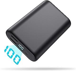モバイルバッテリー 大容量 16800mah 急速充電対応 軽量 小型 LCD残量表示 スマホ充電器 Android/スマホ/ゲーム機/対応 2台同時充電 地震/災害/旅行/出張/緊急用などの必携品