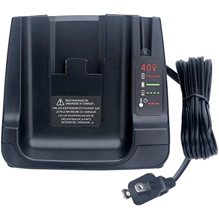 40V MAX Battery Fast Charger LCS36 LCS40 Compatible with Black Decker 36V 40V Max lithium ion Battery LBXR36 LBX36 LBXR2036