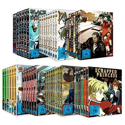 Anime DVD Mega Bundle (7 komplette Serien)