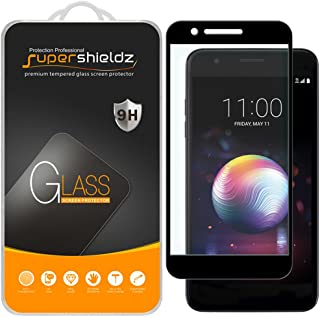 (2 Pack) Supershieldz for LG Premier Pro LTE (Not Fit for LG Premier LTE) Tempered Glass Screen Protector, (Full Screen Coverage) Anti Scratch, Bubble Free (Black)