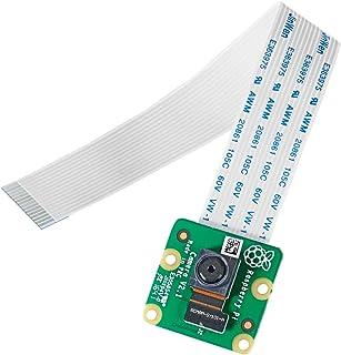 Raspberry Pi Camera Module V2 ラズベリーパイ カメラモジュール ソニー 画像センサ 8メガピクセル 4B、3B+、3Bに対応可能
