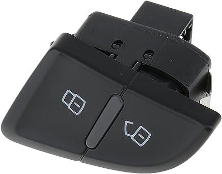 bot/ón de bloqueo cental de la cerradura de la puerta del coche delantero izquierdo del coche para A4 B8 S4 Allroad A5 S5 R Interruptor de bloqueo de la puerta