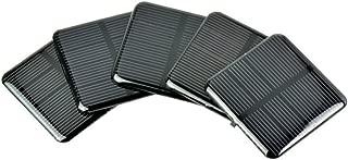 AOSHIKE 10Pcs 2V 160MA Epoxy Solar Panel Polycrystalline Solar Cell for Solar Battery Charger DIY 50x50MM(B)