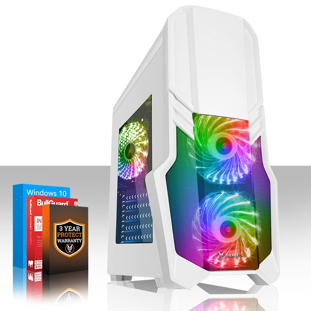 Fierce Exile RGB PC Gamer - Rápido 3.9GHz Quad-Core AMD Ryzen 3 3100, 1TB Disco Duro, 16GB de 3000MHz, NVIDIA GeForce GTX 1650 4GB, Windows 10 Instalado 359640: Amazon.es: Informática
