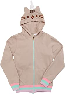 Isaac Morris Pusheenicorn Costume Adult Zip Hoodie