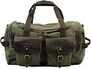 Travel Bag High Capacity Sports Gym Bag Wear Resistant Waterproof & Durable Carry On Satchel for Business Trip Duffle Bag Unisex