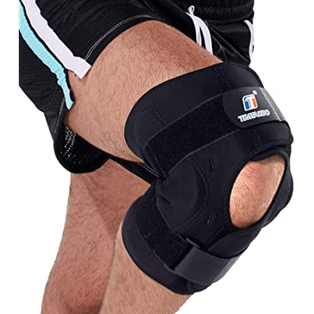 2x Neoprene Knee Leg Support Brace Bandage Sports Injury Muscle Gym
