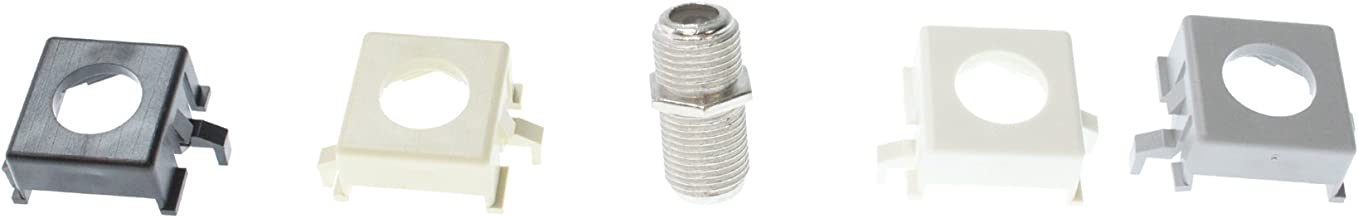 Commscope M81C-B 108009432 F-Connector Coaxial Coupling, w/Mounting Collars
