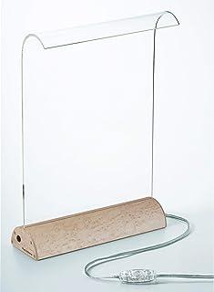 Glowide Wood LED デスクライト GW1000N-B (ナチュラルウッド・バーズアイメープル)