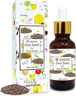 B-URBAN Chia Seed Oil 100% Natural Pure Undiluted Uncut Oil 50ml