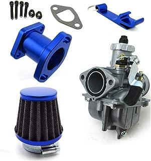 TC-Motor Racing Performance Mikuni VM22-3847 Carburetor Carb Mainfold 38mm Air Filter For Predator 212cc GX200 196cc Go Kart Mini Bike (Blue)