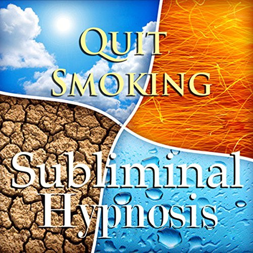 Quit Smoking with Subliminal Affirmations audiobook cover art