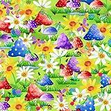 Blank Textiles Insektenstoff, 100 % Baumwolle, 0,5 m Bla133