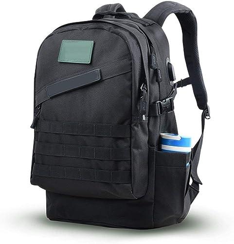 FERZA Home Sacs à Dos Outdoor Climbing Bag Hommes Et Femmes Sports Voyage Multi-usages Imperméable Randonnée Camouflage Sac à Dos épaule Sac 40L Voyage Sac d'alpinisme (Couleur   A)