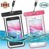 smartlle wasserdichte Handyhülle Tasche Beutel Handy Hülle Wasserdicht, Staubdichte Schutzhülle für iPhone 12 11 X XR XS MAX,8/7/6s Plus,6 5 5c 5s,Galaxy S21 S20 S10 S9 S8 S5 S7 S6 Edge