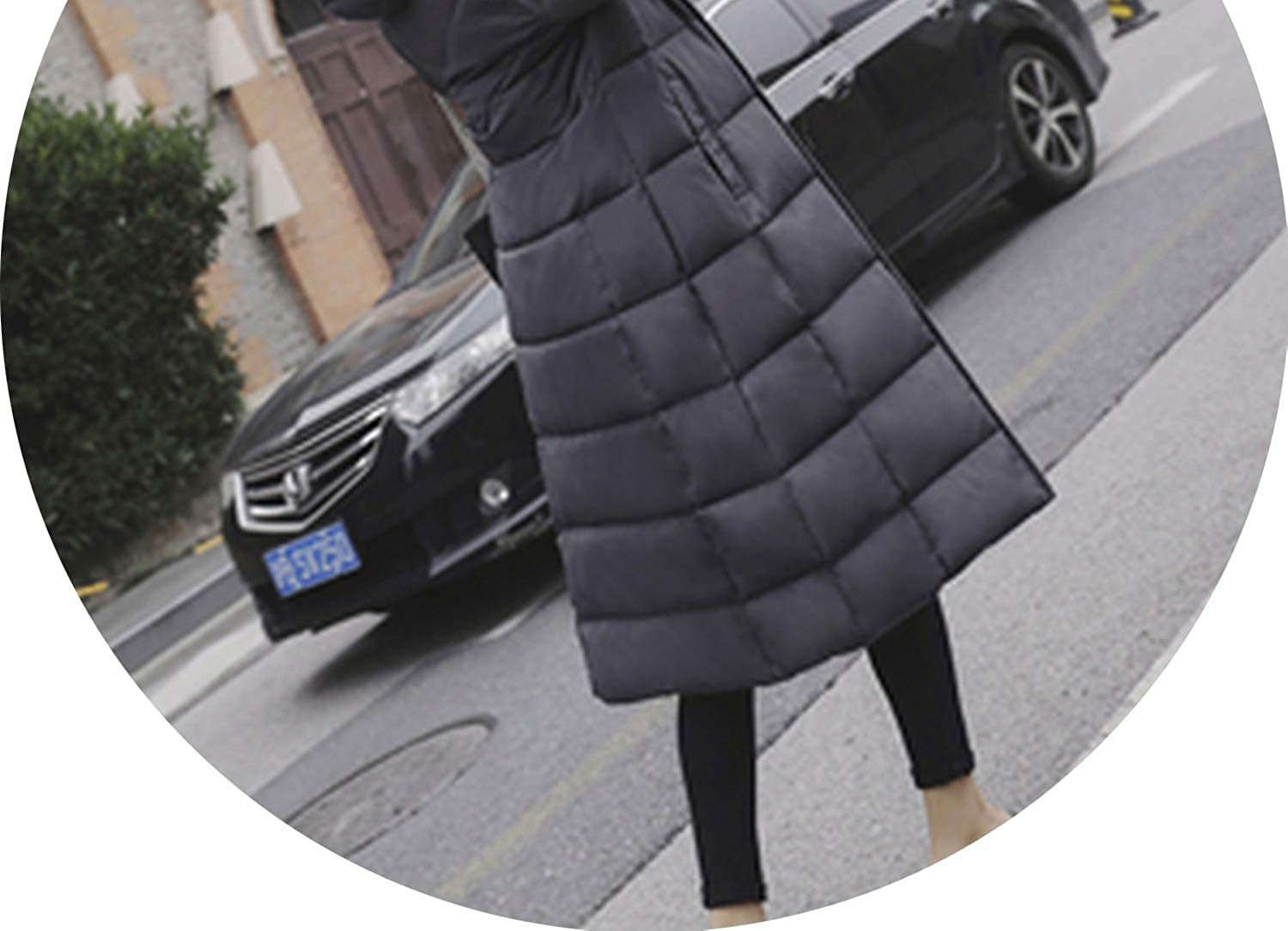 2018 Winter Fashion Woman Park Coat Long Hooded Section Ultra Light Duck Down Jacket