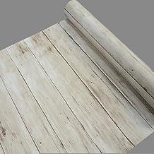 Yifely Light Brown Wood Grain Shelving Paper Self Adhesive Shelf Liner PVC Dresser Drawer..