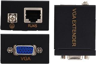 Cosiki 60M VGA RJ45 extender zender ontvanger CAT-5/6 Ethernet-kabel