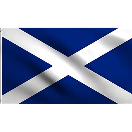 BANNER 2x3 ft wit SCOTLAND FLAG 2/' x 3/' for a pole SCOTTISH FLAGS 90 x 60 cm