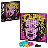 LEGO Art Andy Warhol's Marilyn Monroe, Poster da Collezionista Fai da Te,...