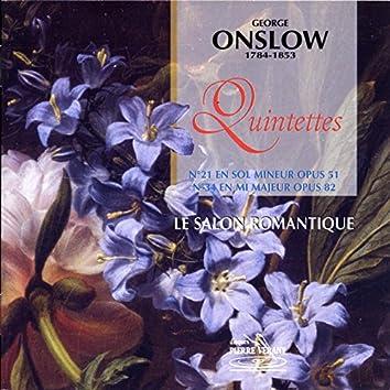 Onslow : Quintette op.82 & 51
