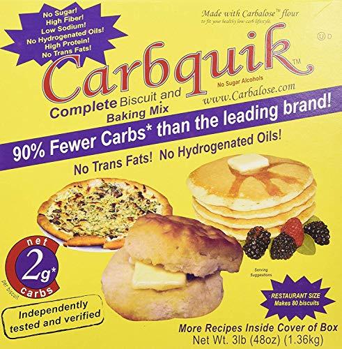 Carbquik Baking Mix, 3 lb (48 oz) (PACK OF 4), Set of 4