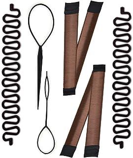 French Braiding Tool Magic Hair Braided Tool Women Fashion Hair Styling Clip DIY French Hair Braiding Tool Hairstyle Braid Tool Twist Plait Hair Braiding Tool Bun and Pony Tail Hair Accessories