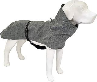 Croci Hiking Cappotto Per Cani, Impermeabile Per Cani, Cappotto Imbottito Invernale, Fodera In TermopileEverest Grey,Tagli...