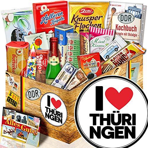 I Love Thüringen / Thüringen Geschenk / Geschenk Set DDR Süß