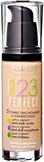 Bourjois 123 Perfect Foundation - 53 Beige Clair, 30 ml