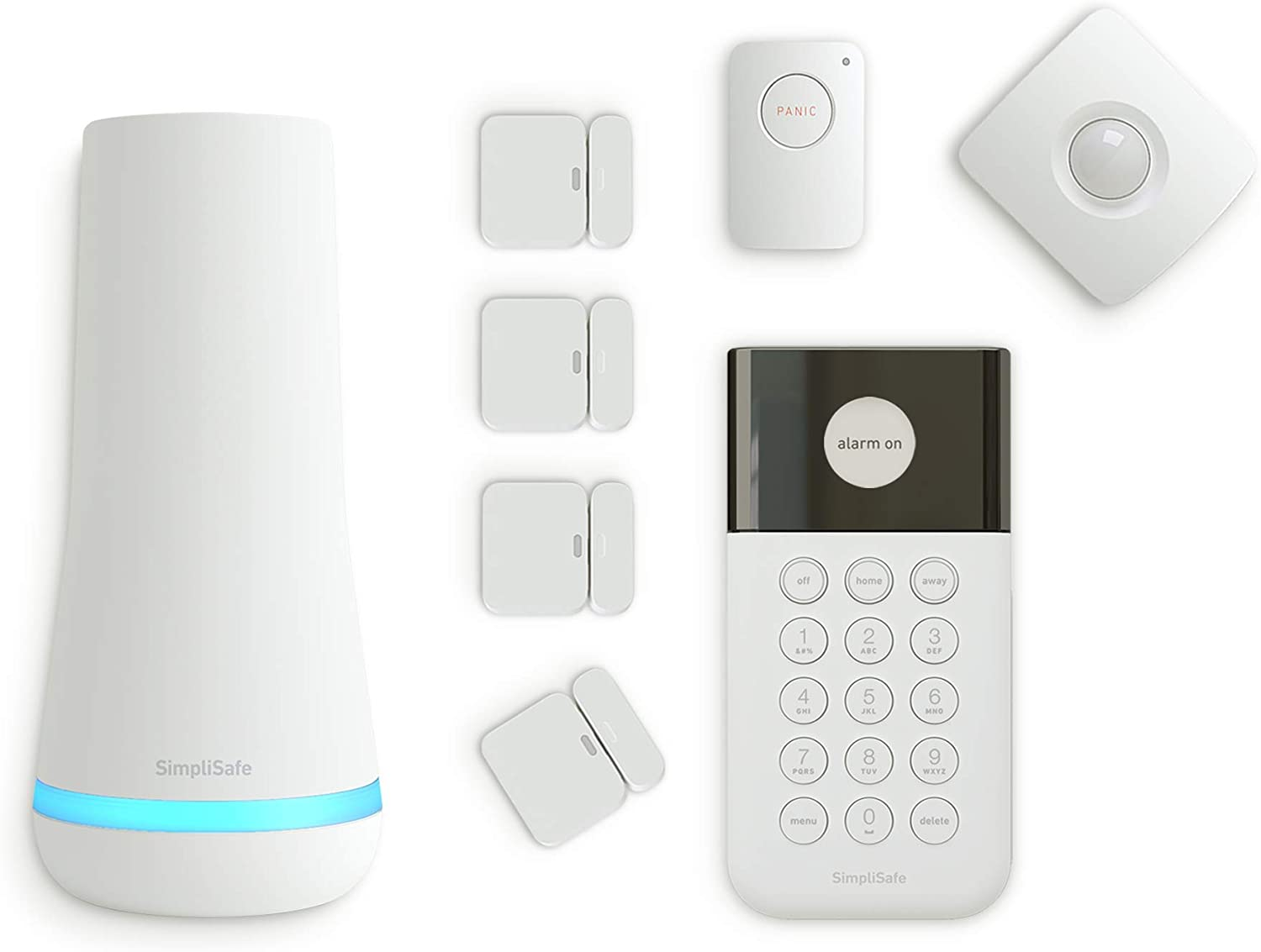SimpliSafe 8 Piece self monitor Wireless Home Security System