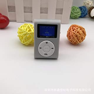 MP3 Player Mini LCD Screen,Music Player Support,Small Size Portable MP3,Max Support 32GB TF Card,Built-in Speaker,Support ...