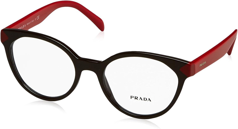 Prada PR01TV Eyeglass Frames DHO1O151  Brown