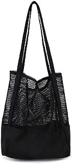 Canvas Shoulder Bag, Fashion Shoulder Handle Bag, Oversized Carry Totes Durable Shopping Groceries, Multi-Use Bag