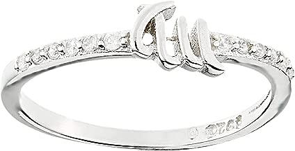 خاتم فاشن فضة للنساء من اورورا