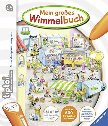 tiptoi® Bilderbuch: tiptoi® Mein großes Wimmelbuch von Inka Friese (5. Mai 2013) Pappbilderbuch