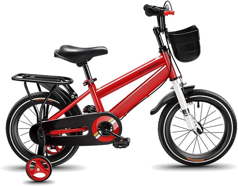 marca en liquidación de venta Bicicletas HAIZHEN Niños, Niños de 2 a 5 años años años con Ruedas y Canasta, 12 Pulgadas   14 Pulgadas   16 Pulgadas para Niños y niñas  Envio gratis en todas las ordenes