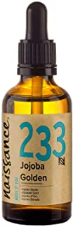 Naissance Cold Pressed Golden Jojoba Oil 50ml - Puur & Natuurlijk, Ongeraffineerd, Veganistisch, Hexane Free, Geen GGO - I...